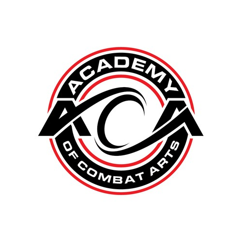 Professional Sports Logofor Academy of Combat Arts