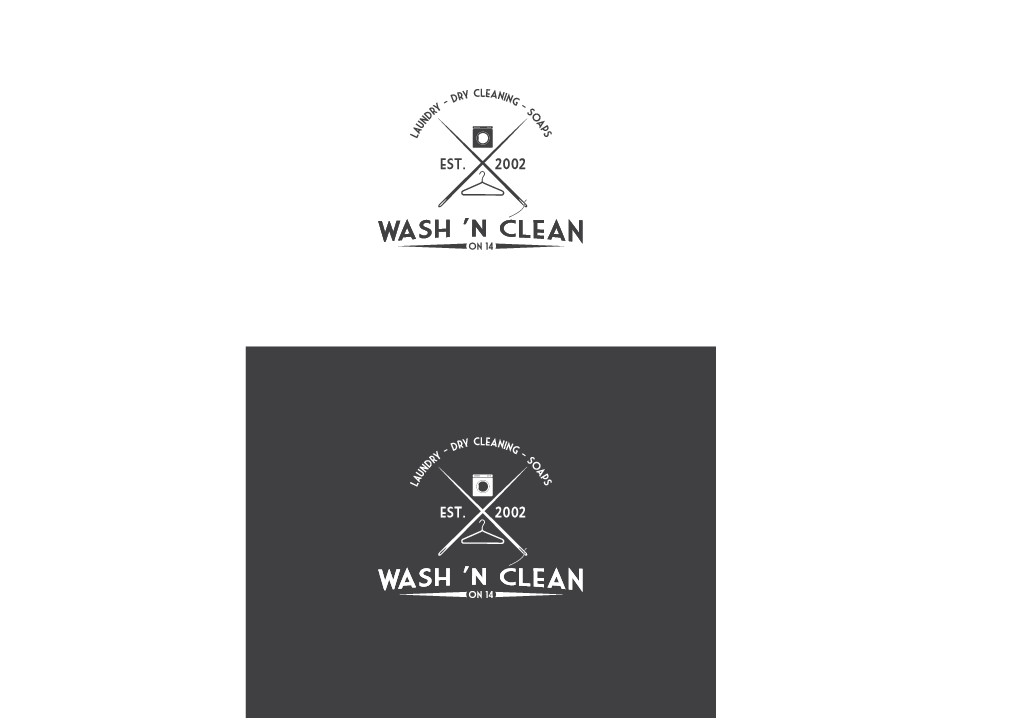 Full service Manhattan laundromat/dry cleaner looking for a new clean, fresh, modern logo