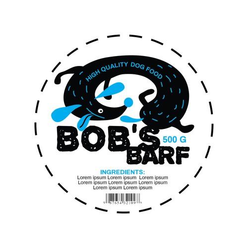 Label for 'Bob's Barf'