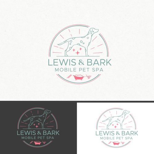 Lewis & Bark mobile pet spa