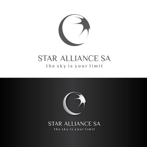 Logo for a startup services company