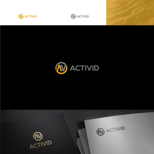 Design a memorable logo for Activid, a video editing service for action sports