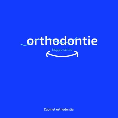 Concept de logo orthodontie