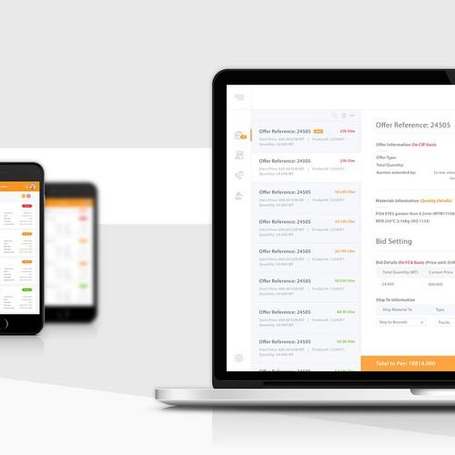 Webpage App Design