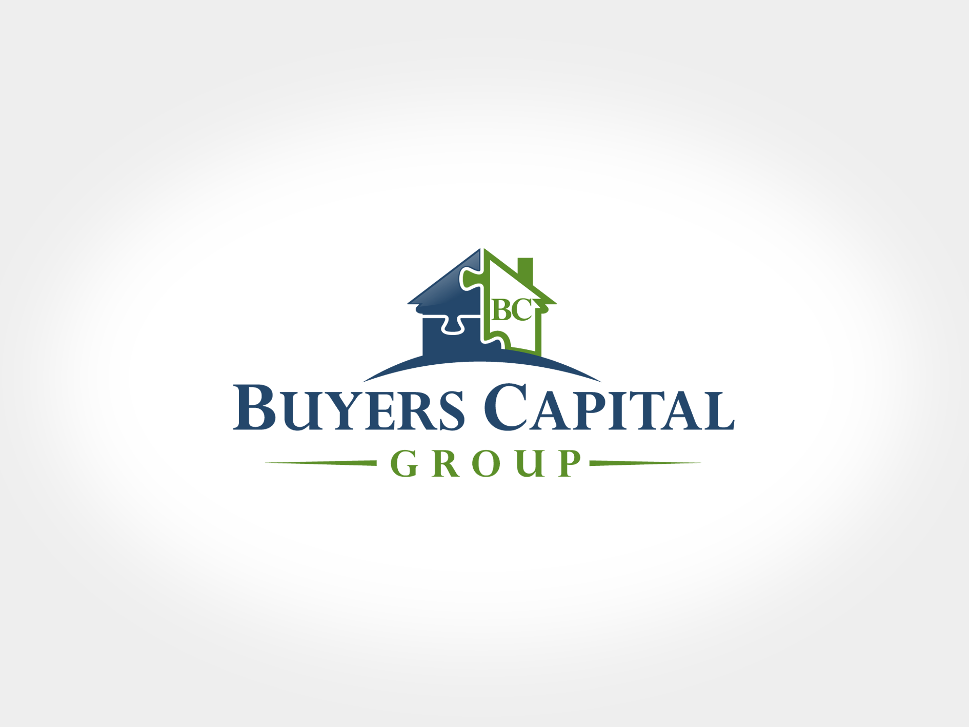 Create the next logo and business card for Buyers Capital Group