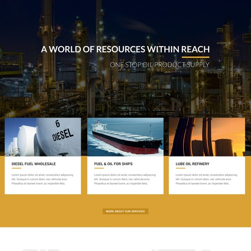 Epic Oil Website Design