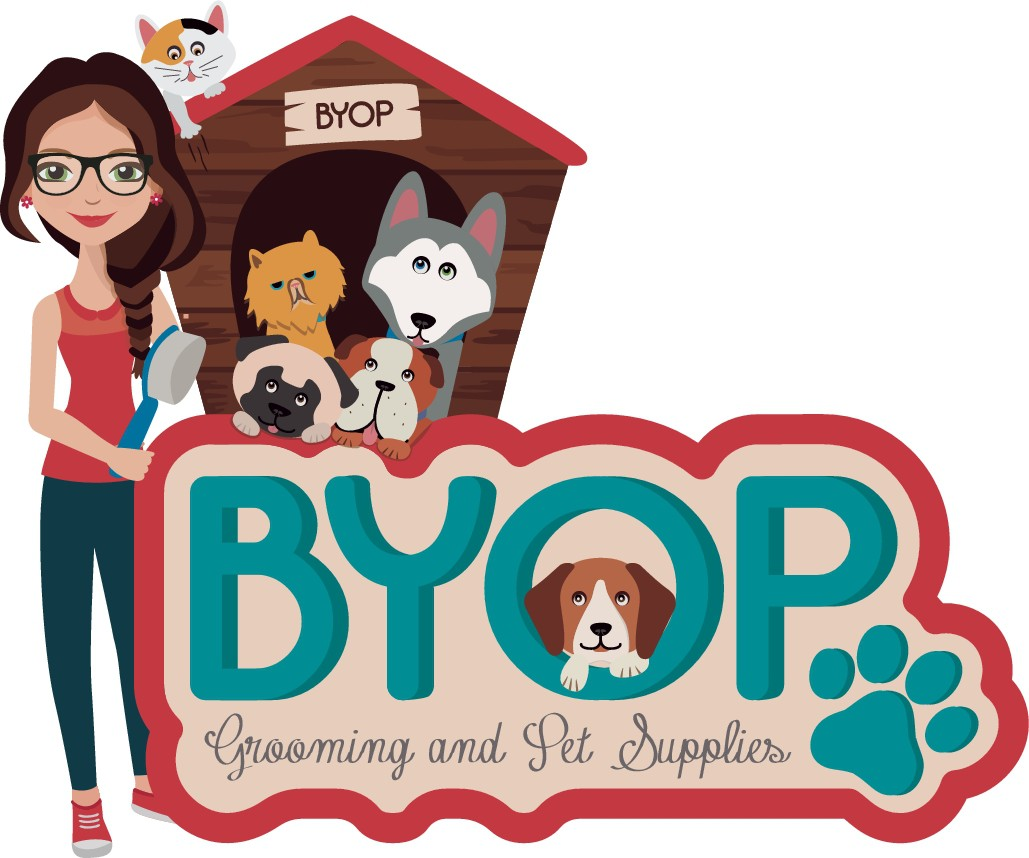 Awesome and fun logo for a grooming and Pet Supply store!