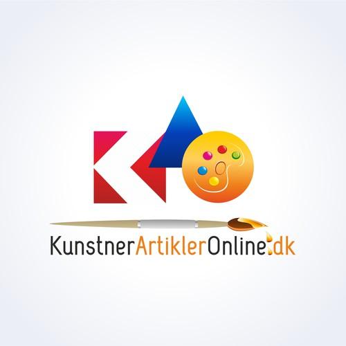logo for KunstArtiklerOnline.dk