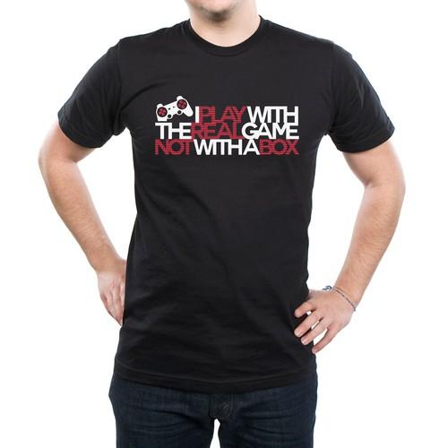 Playstation Tshirt design