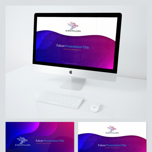 Powerpoint Template for EventFalcon Ltd