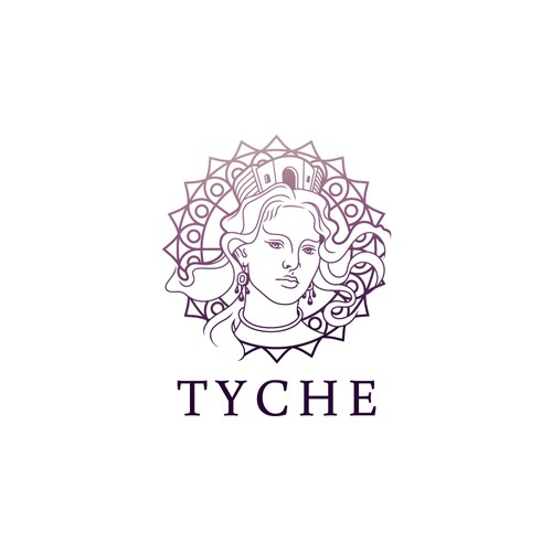 Logo design for new Cosmetic Brand - TYCHE