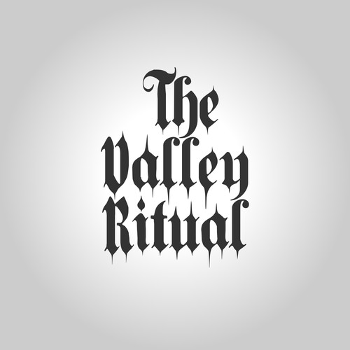 "Desain Logo for ""The Valley Ritual"" band"