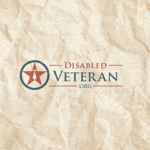 Attractive logo for Disable Veteran