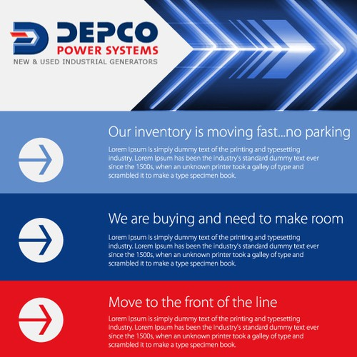 Help Depco Power Systems with a new email