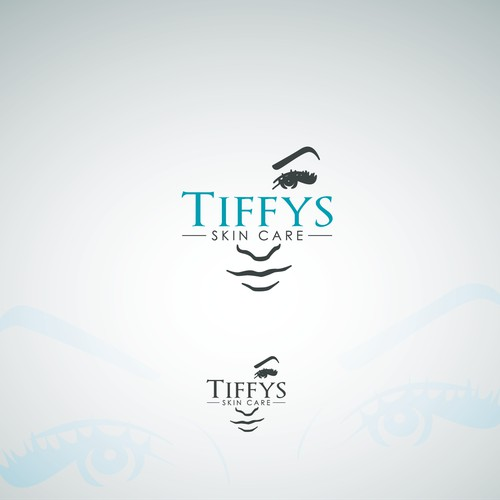 Tiffys Skin Care Logo Design