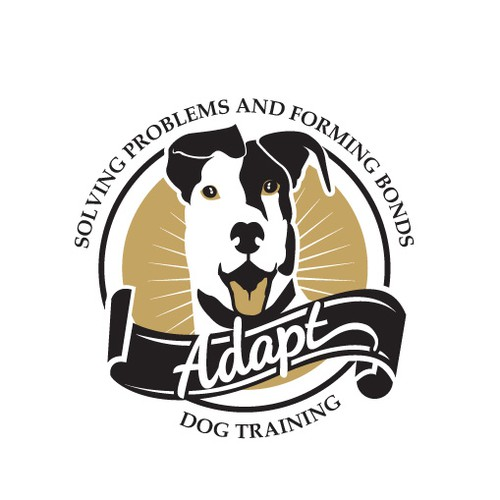 Design for dog training logo