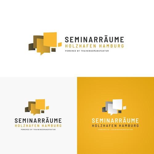 Modernes Logo für Hamburger Seminarräume