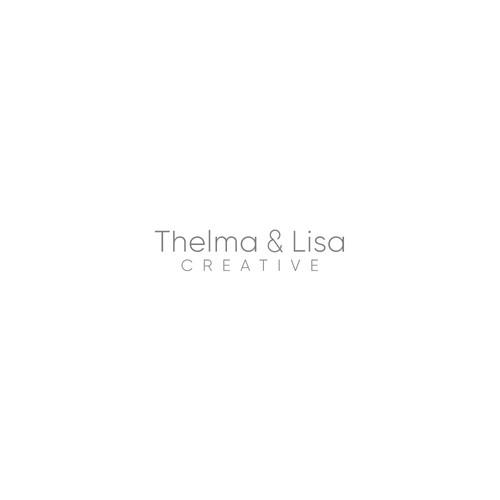 Thelma & Lisa Creative Logo