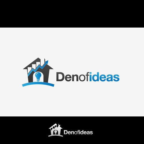Logo design for Den of Ideas