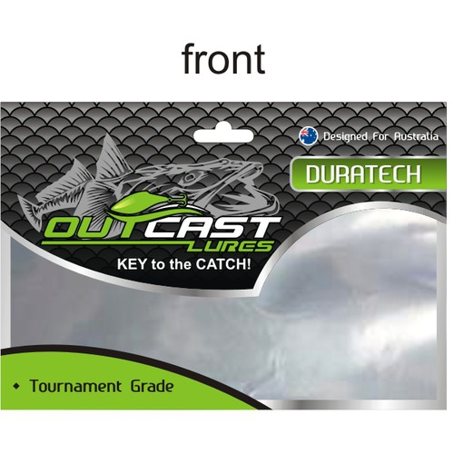 packaging design for OUTCAST