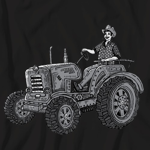 t-shirt for a farmer