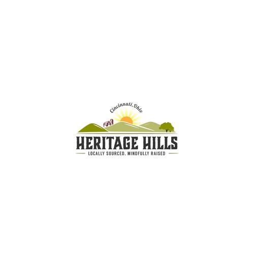Logo for Heritage Hills farm