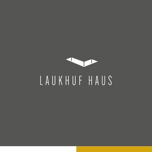 Logo Konzept Laukhuf Haus