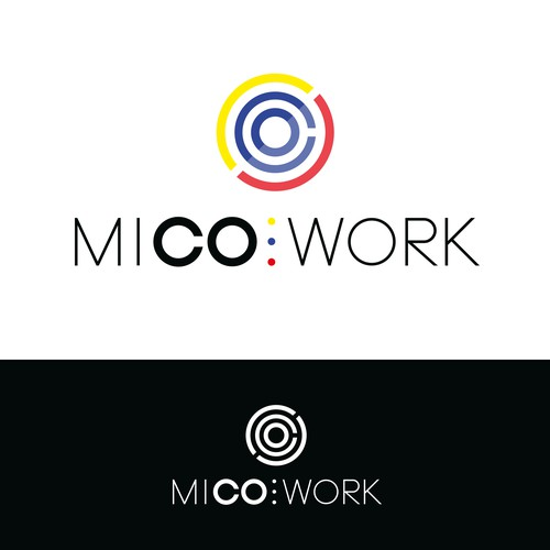Logo for colombian Co-Working space