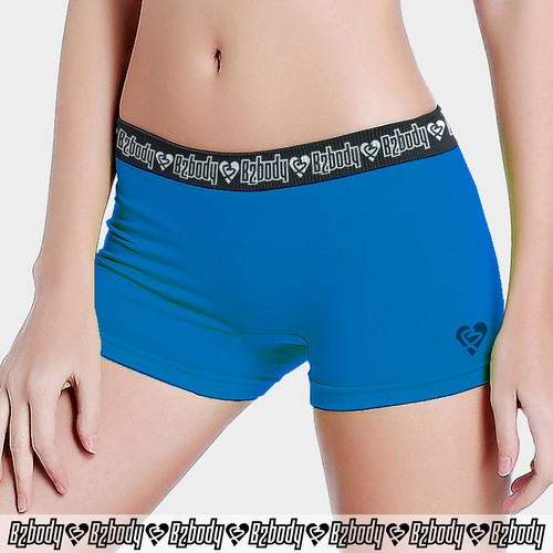 print design - boyshort panties for women