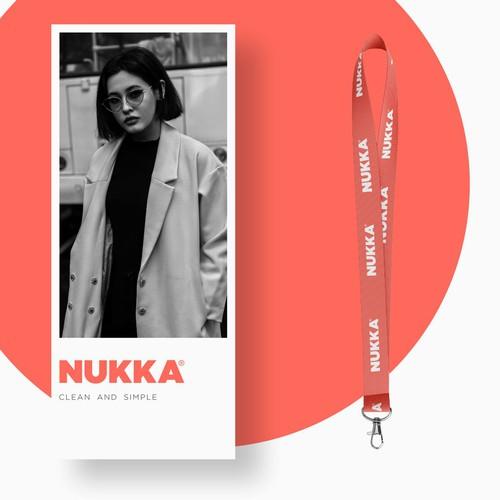 Fashionable Logo Concept for NUKKA