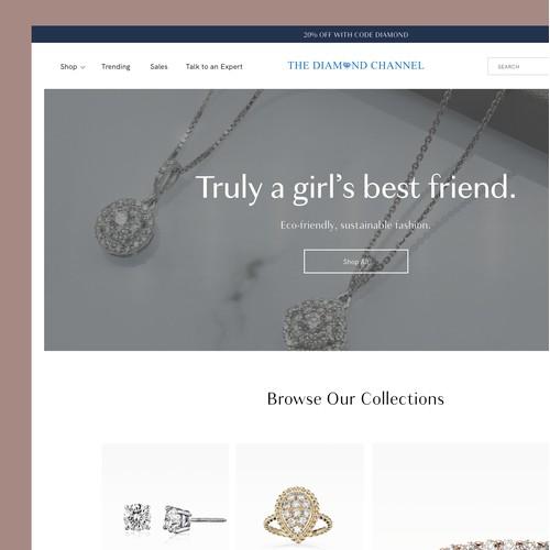 Jewelry E-Commerce Concept