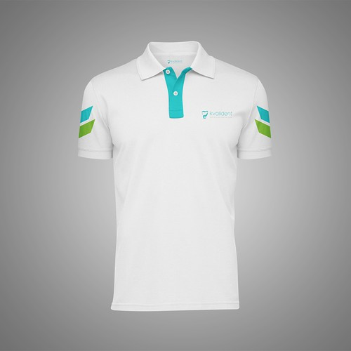 Polo T shirt Design For Kvalident