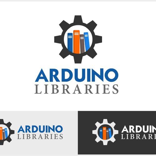 Library-themed logo for codebender