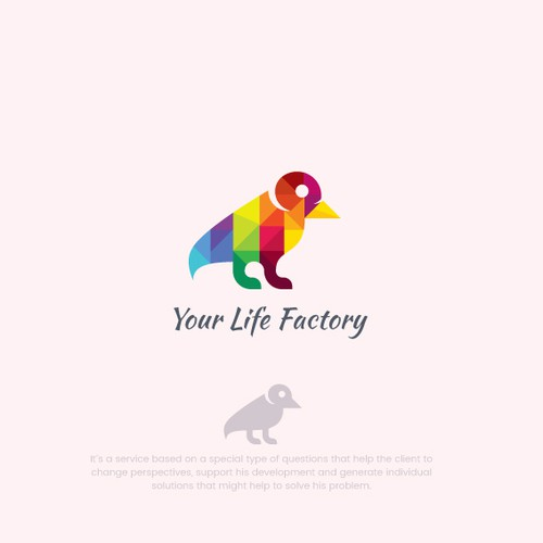 Colourful Logo For Life