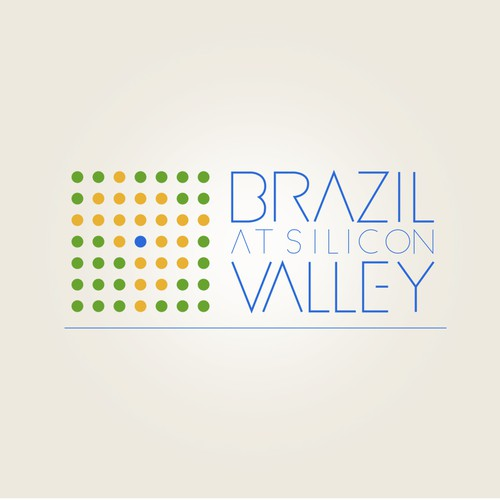 Logo for a conference that aims to bridge Brazil with Silicon Valley