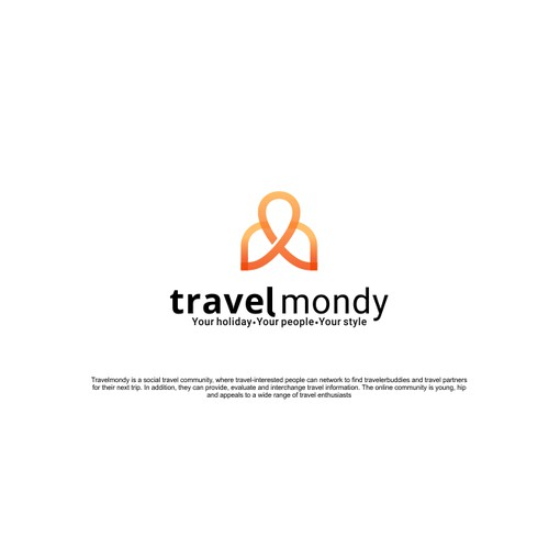 Logo concept for Travelmondy