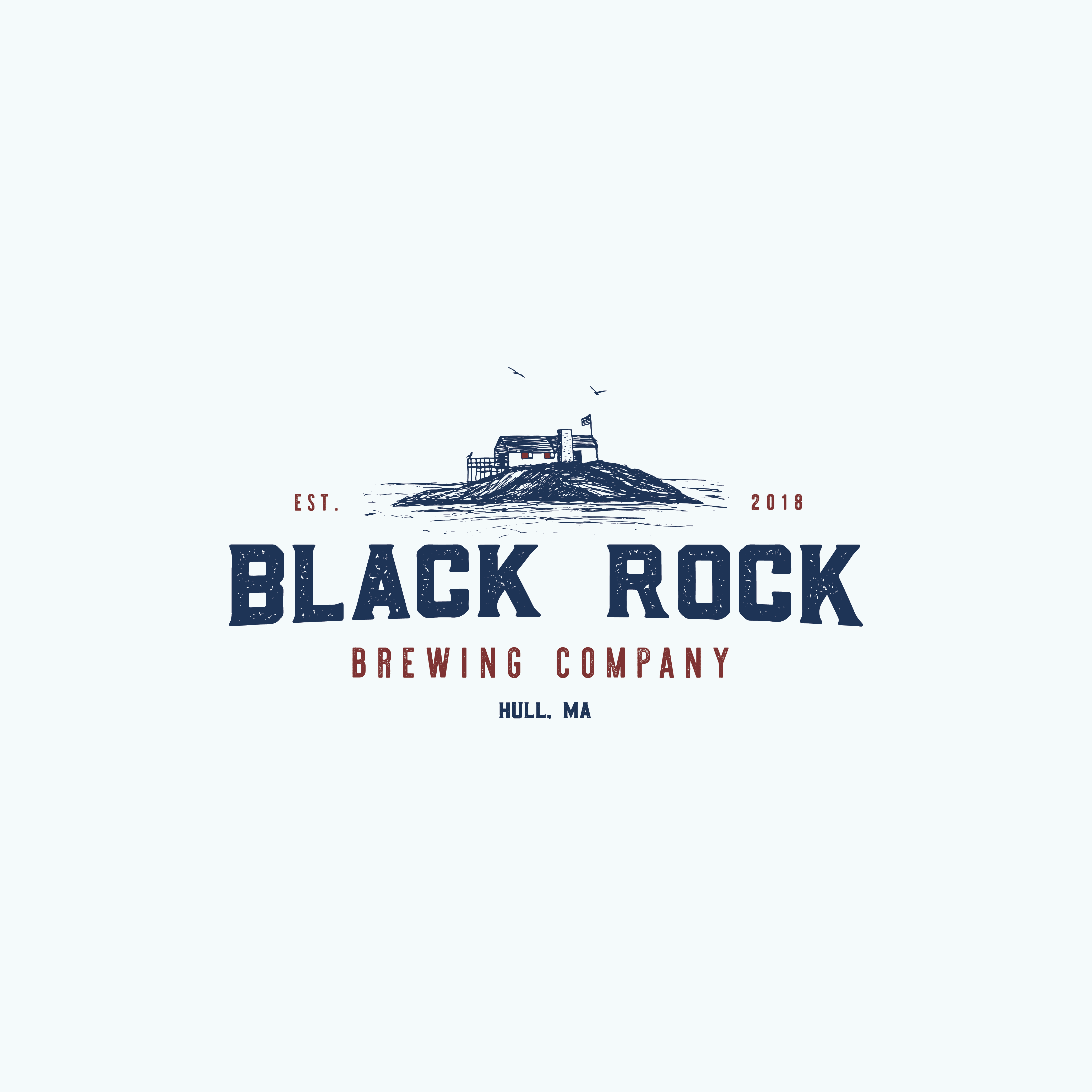 Black Rock Brewing Company needs a top notch logo to represent it's awesomeness