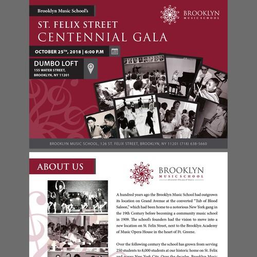 Brooklyn Music School's St. Felix Street Centennial Gala