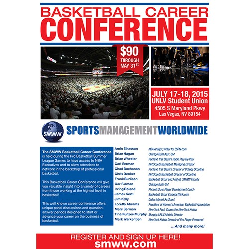 BASKETBALL CAREER CONFERENCE