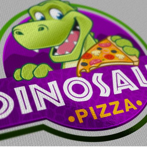 logo for Dinosaur Pizza