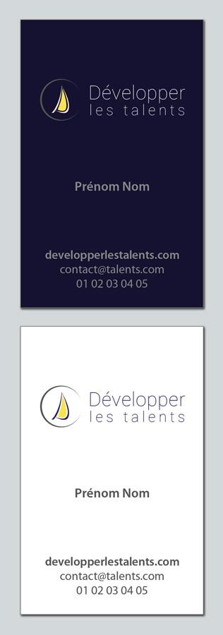 Nouveau projet dans la catégorie logo et carte de visite pour Développer les talents