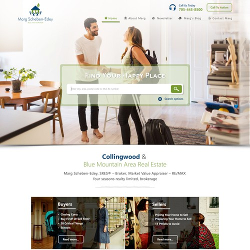 RealEstate Site Design