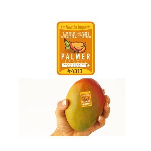 Mango sticker