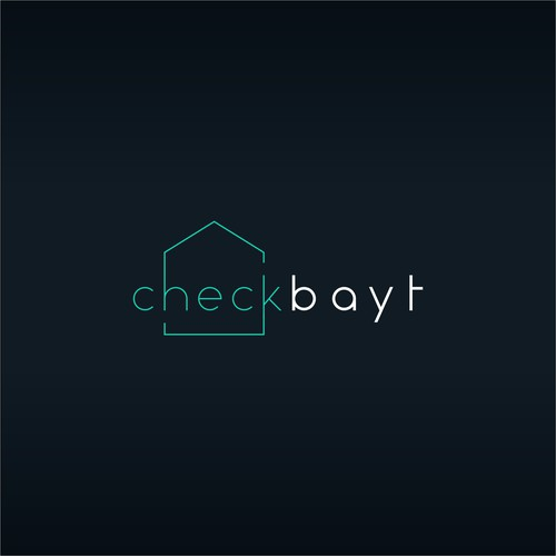 logo concept for check bayt