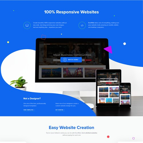 SAAS custom website