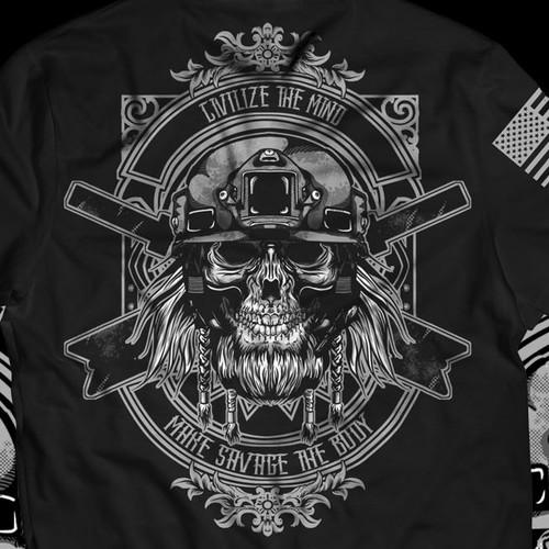 design a supplement brand tshirt
