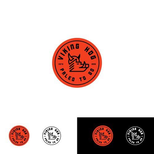 Logo for paleo food