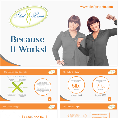 powerpoint design for Ideal Chiropractic Health Center