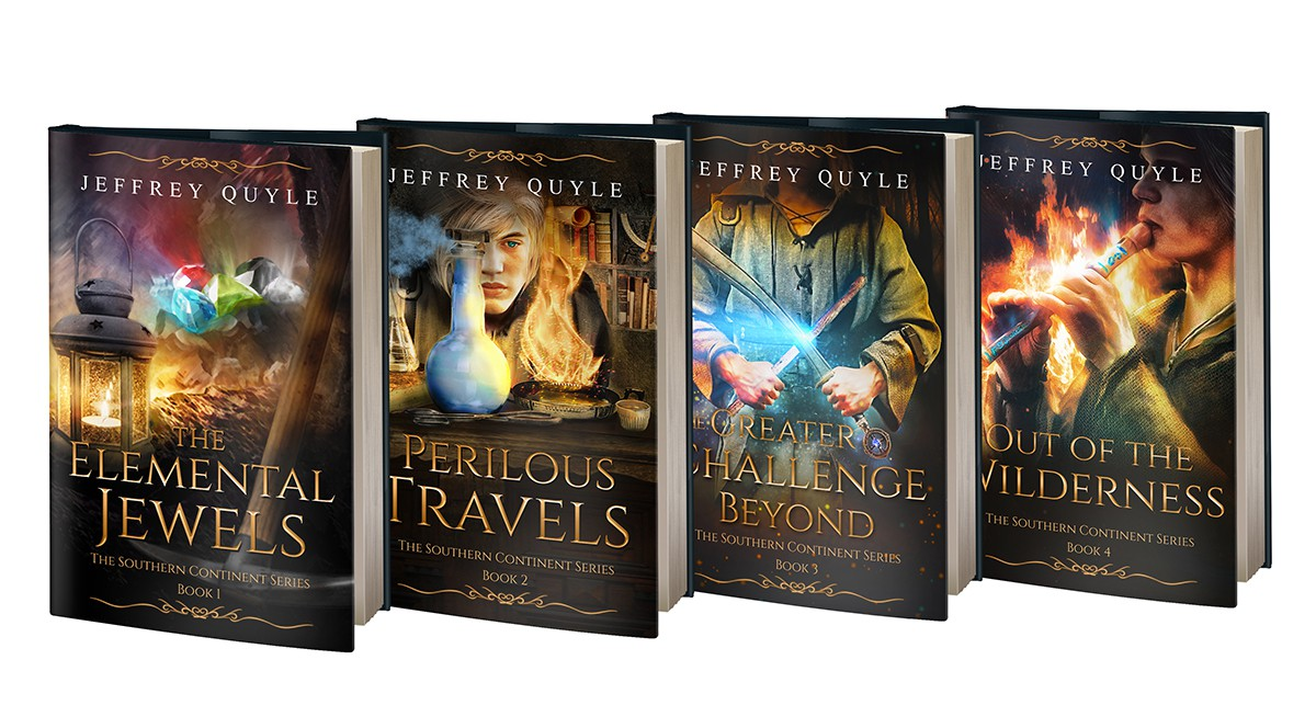Want to start a fourth book cover?