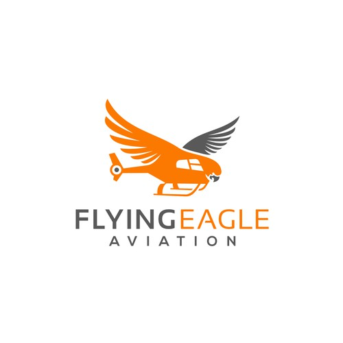 "Create a memorable brand identity for the First Nations Helicopter company ""Flying Eagle Aviation"""